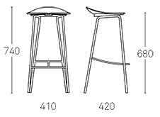 Ant Bar Stools