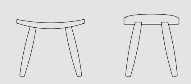 Basic Bar Stool by Lagranja