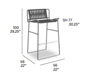 Outline Bar Stool
