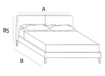 Sienna SN66 Platform Bed