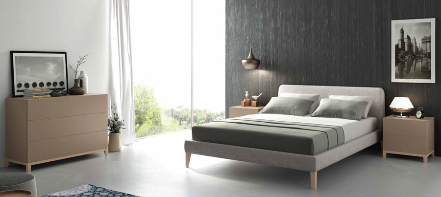 Sienna Headboard Bed