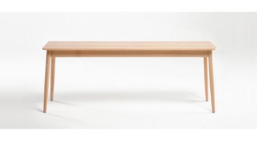 Otto bench by Ondaretta