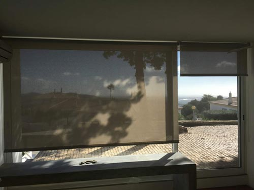 Roller Blinds for the Algarve