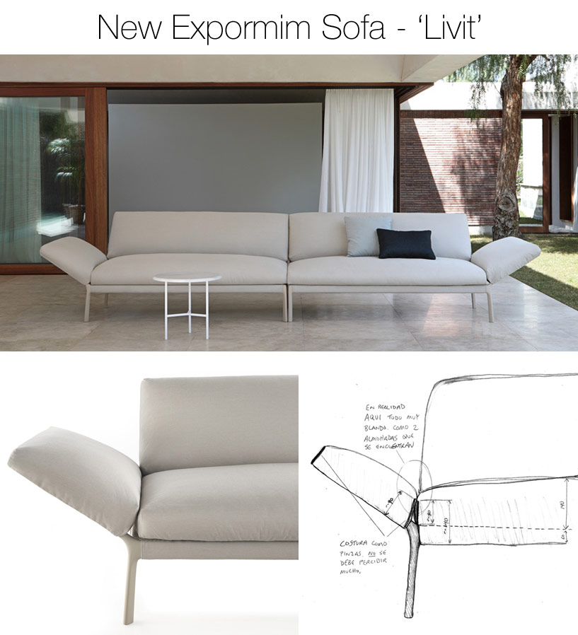 Livit Sofa by Expormim
