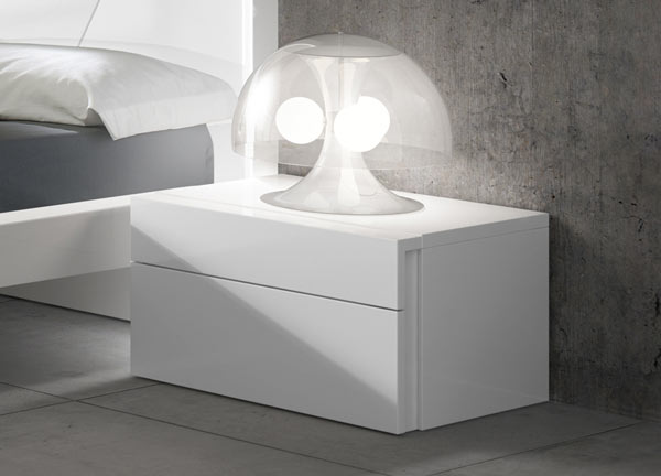 Cara Bedside by Brito