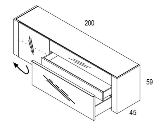 Brito Sideboard Dimensions