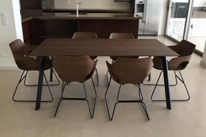 Kone Dark Dining Table