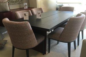 Slats Veneer Dining Table
