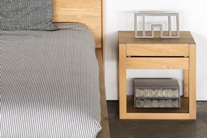 Azur Bedside Table by Ethnicraft