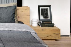 Madra Bedside Table by Ethnicraft