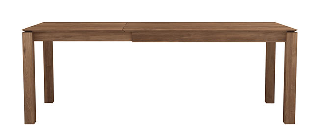 Slice Extendable Dining Table in Teak