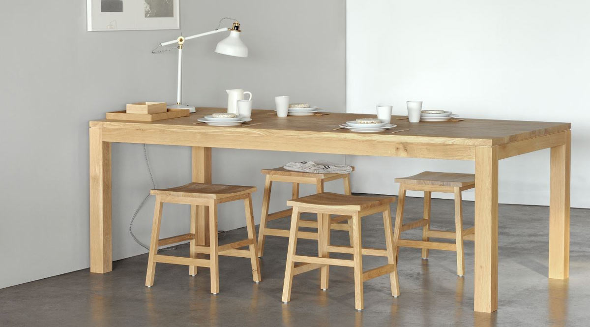 Striaght Dining Table