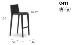 Bolzano Bar Stool