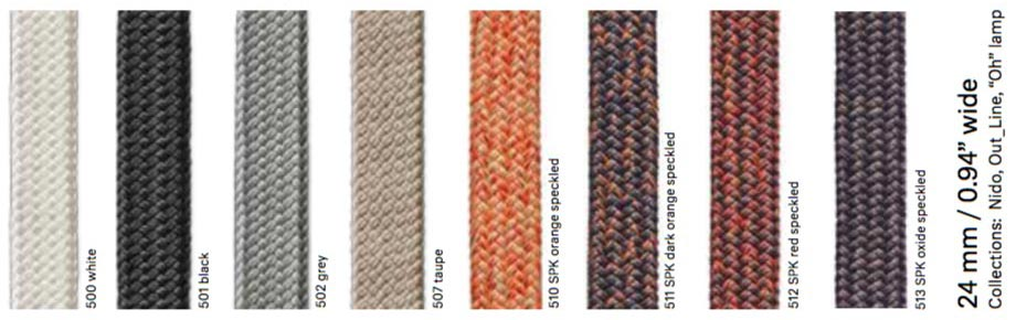 Rope colours
