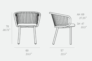 Huma Rattan Chair by Expormim