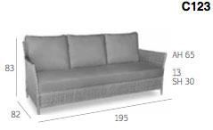 Messina Sofa