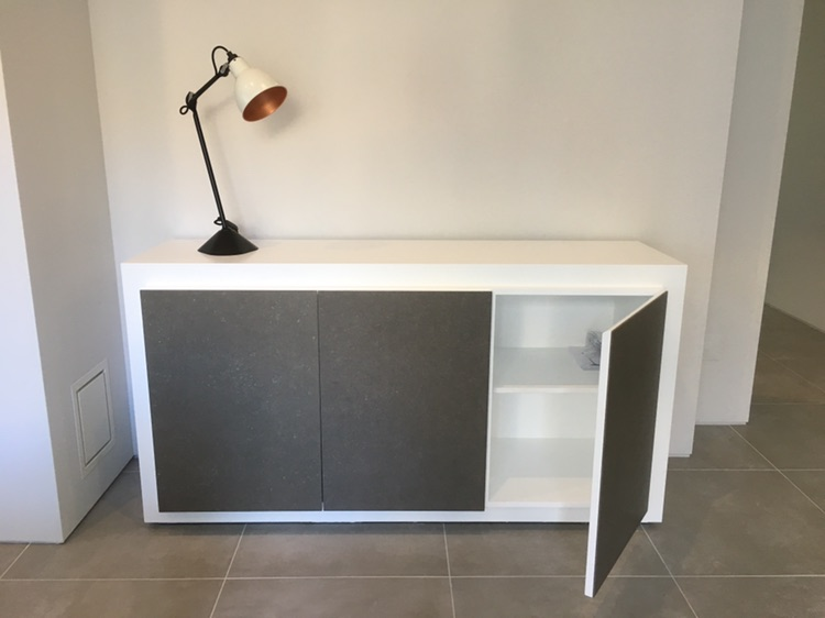 Expormim Mistral Sideboard in White Lacquer
