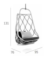 Nautica Swing Seat Outdoor Dimensions
