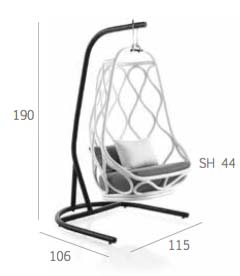 Nautica Swing Seat Stand Dimensions