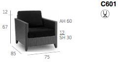 Palmira Arm Chair