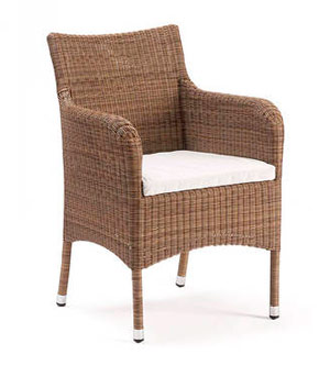 Dining armchair straight