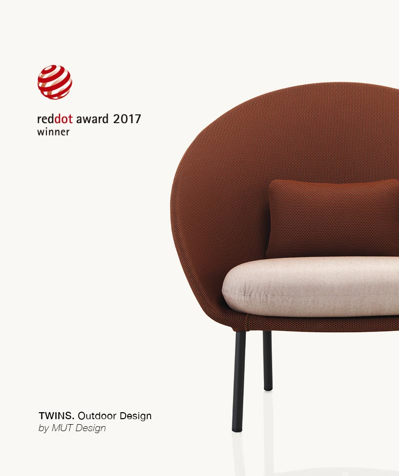 Twins Armchair by Expormim