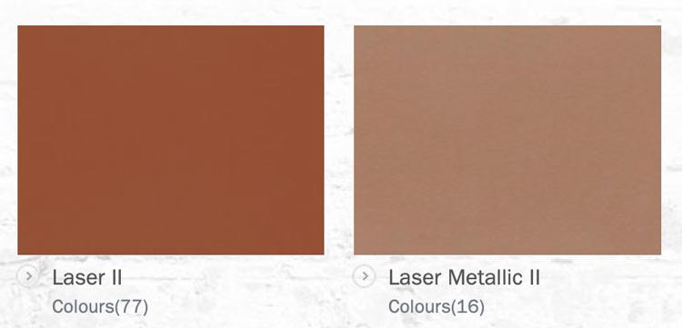 Kirkby Laser II Fabrics