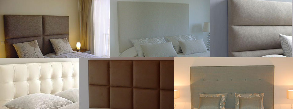 Fabric Bed Headboards made by Casa e Jardim
