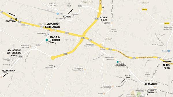 Casa e Jardim Map