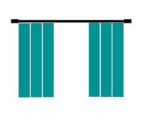 Curtains, Algarve, Portugal