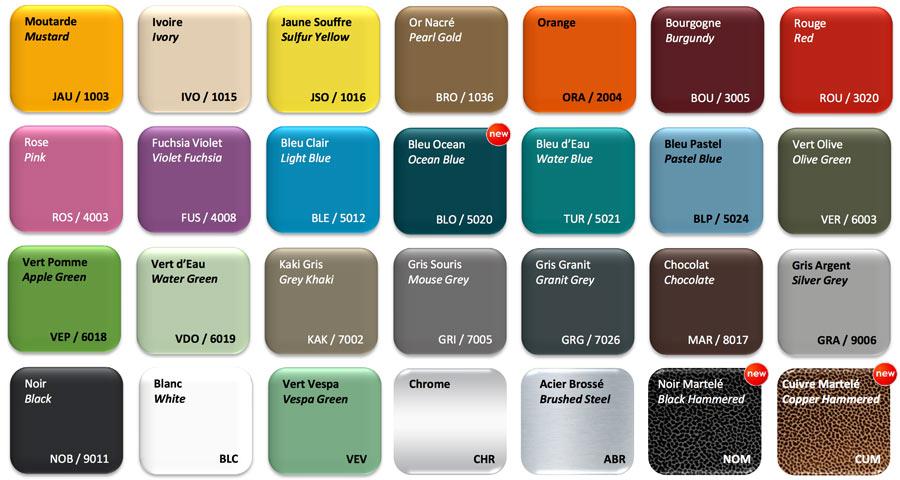 Jielde Colours