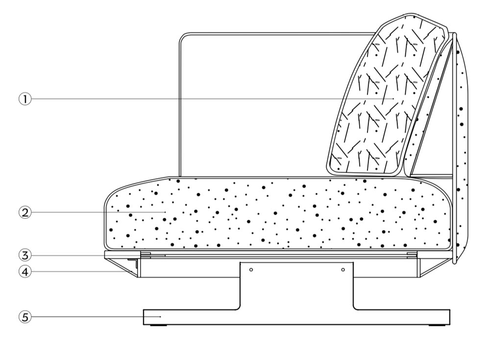 Serene Sofa Sturcture