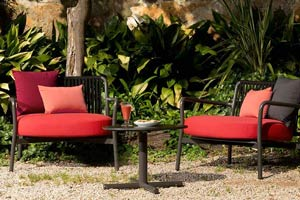 Bold Garden Armchairs