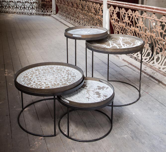Coffee Table Trays by Notre Monde