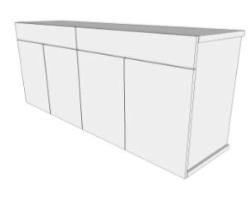 NB  4 Door Sideboard