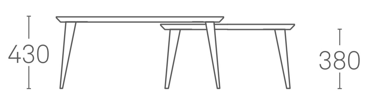 Bob Coffee Tables by Ondarreta