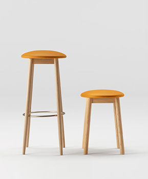 Oto Bar Stools by Ondaretta