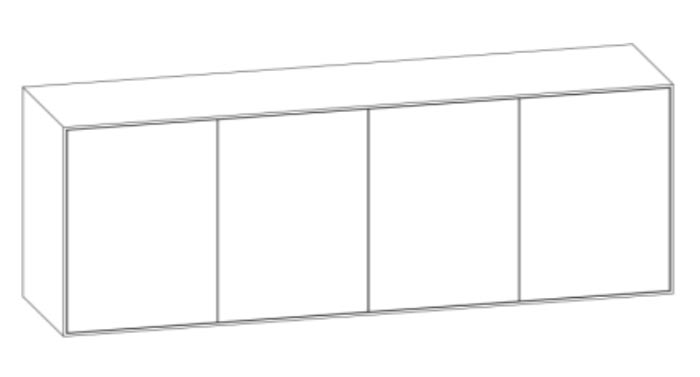 Pixel Sideboard