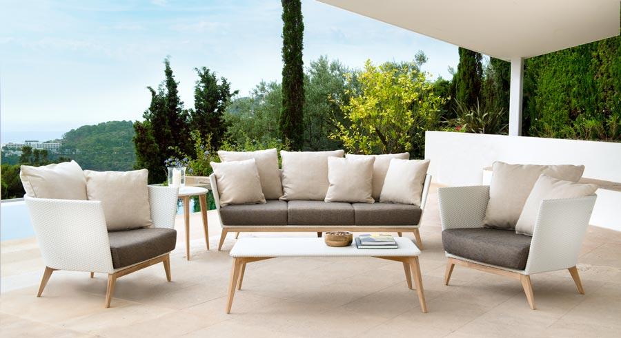 Arc patio furniture