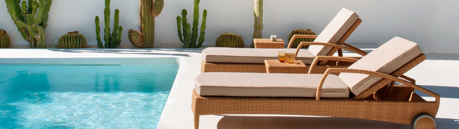 The Breda Sun Lounger by Point