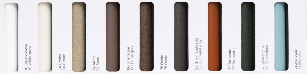 Point Aluminium Finishes