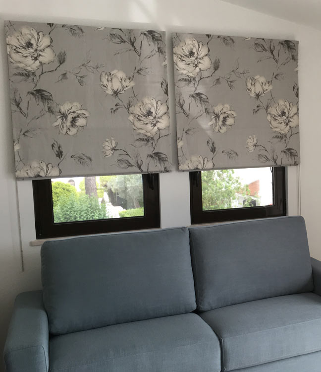 Curtains in Bovis Lakeside Village
