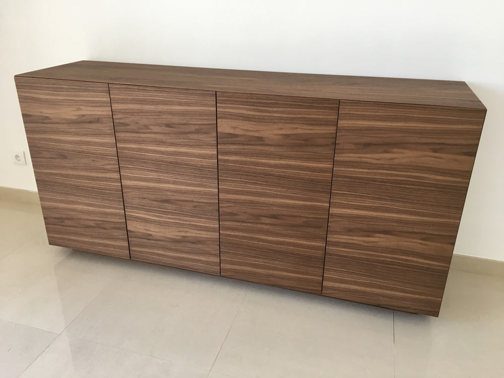 Walnut Furniture in Quinta do Lago