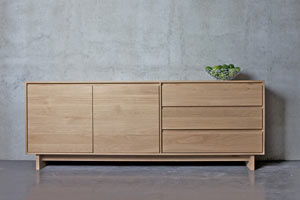 Ethnicraft Wave Sideboard