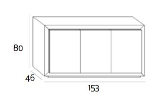 Expormim Mistral Sideboard