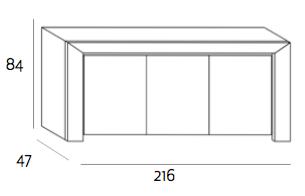 Expormim Nova Sideboard