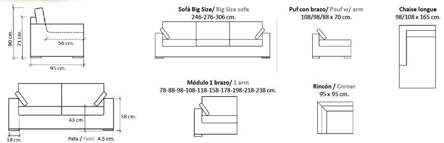Kuala Sofa Configurations