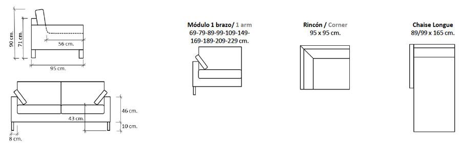 Lumpur Sofa Configurations