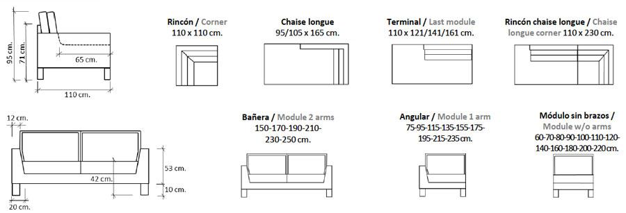 Miyagi Sofa Configurations