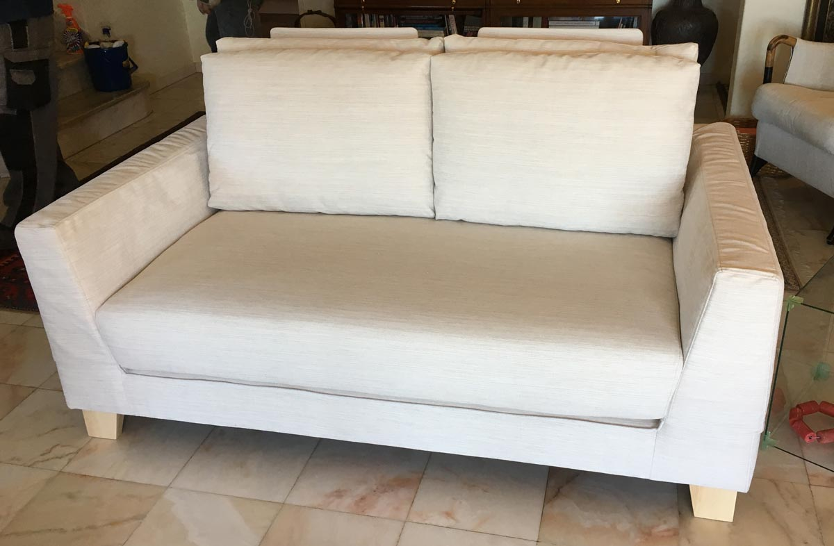 Miyagi Sofa supplied by Casa e Jardim